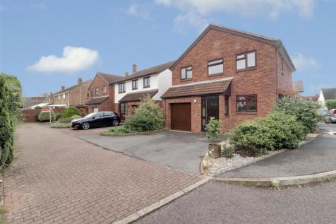 Walnut Close, Bishops Hull, Taunton, Somerset, TA1. 3 bedroom detached house for sale