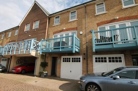 Broad Reach, Shoreham By Sea BN43 5EY. 4 bedroom terraced house for sale