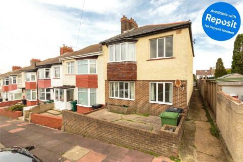 Crayford Road, Brighton, BN2. 5 bedroom end of terrace house