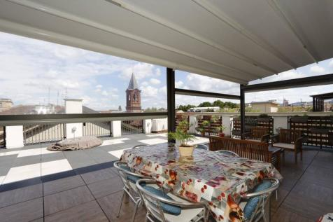 Piedmont, Turin, Turin. 4 bedroom penthouse for sale