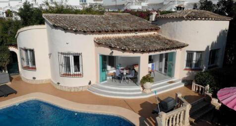 Valencia, Alicante, Moraira. 3 bedroom villa for sale