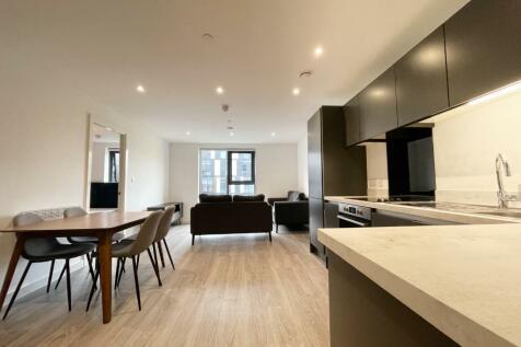 Woden Street, Manchester, Greater Manchester, M5. 2 bedroom flat