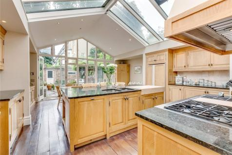 Brook Green, London, W6. 6 bedroom end of terrace house for sale
