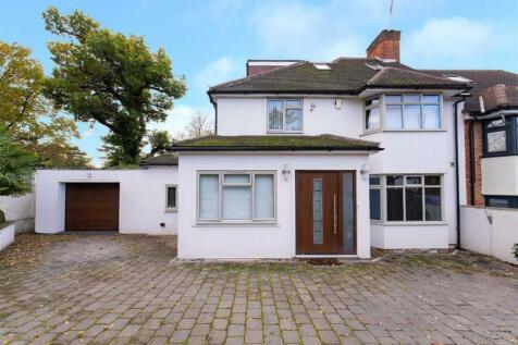 Glenwood Road, Mill Hill, London. 4 bedroom semi-detached house