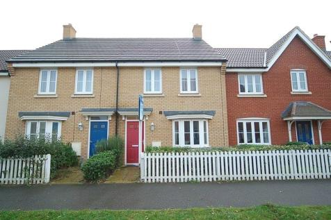 Hundred Acre Way, Red Lodge, Bury St Edmunds, Suffolk, IP28. 3 bedroom terraced house