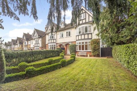 Carlton Bank, Station Road, Harpenden, Hertfordshire, AL5. 7 bedroom semi-detached house for sale