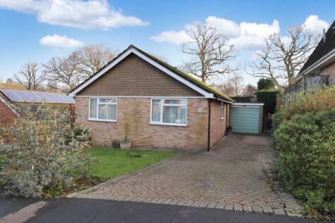Pinehurst, Burgess Hill, West Sussex.. 3 bedroom detached bungalow for sale