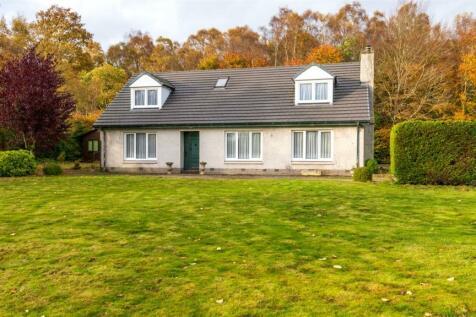 Benshie Cottage, Oathlaw, Forfar, DD8. 4 bedroom detached house for sale