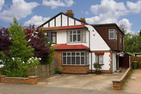 Clandon Close, Stoneleigh, Surrey. 4 bedroom semi-detached house