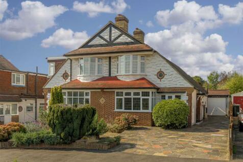 Chadacre Road, Stoneleigh, Surrey. 3 bedroom semi-detached house