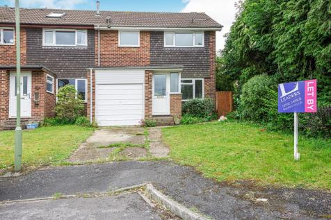 Draycote Road, Clanfield. 3 bedroom end of terrace house