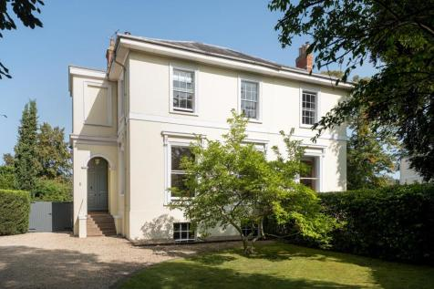 Apsley Lodge, Pittville Circus, Cheltenham, Gloucestershire, GL52. 5 bedroom town house for sale