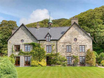 Braich y Celyn Hall, Aberdyfi, Merionethshire, Gwynedd, Mid Wales, LL35 0RD. 5 bedroom character property for sale