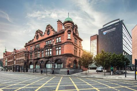 The Bruce Building, Newcastle Upon Tyne. Studio flat