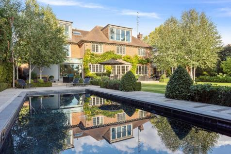 Roedean Crescent, Roehampton Gate, London, SW15. 5 bedroom detached house for sale