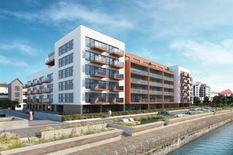Quadrant Wharf, Aqua House, Millbay, Plymouth. 1 bedroom apartment