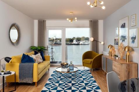 Quadrant Wharf, Aqua House, Millbay, Plymouth. 2 bedroom apartment