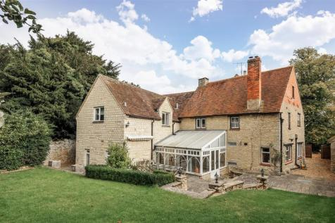 The Old Vicarage, Church Road, Stevington. 6 bedroom detached house for sale