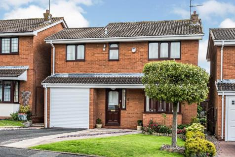 Gainsborough Place, Milking Bank, Dudley. 4 bedroom detached house