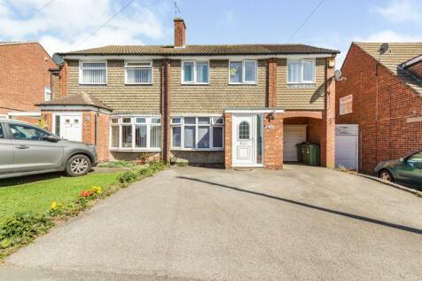 Kipling Drive, Enderby, Leicester. 4 bedroom semi-detached house for sale