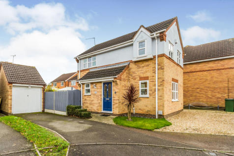 Grebe Way, Whetstone, Leicester. 3 bedroom detached house for sale