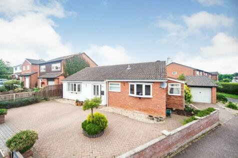 Campion Drive, Taunton. 3 bedroom detached bungalow for sale
