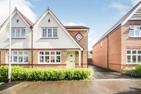 Mallard Crescent, Caddington. 3 bedroom semi-detached house for sale