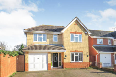 Aston Close, Ipswich. 4 bedroom detached house for sale