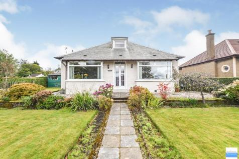 Gallowhill Road, Lenzie, Glasgow. 4 bedroom detached bungalow for sale