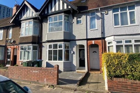 St. Patricks Road, Coventry. 7 bedroom terraced house for sale