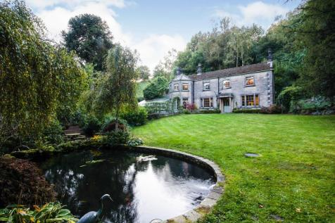 Upper Lumsdale, Matlock. 4 bedroom detached house for sale