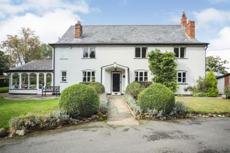 Foxwist Green, Whitegate, Northwich. 4 bedroom detached house for sale