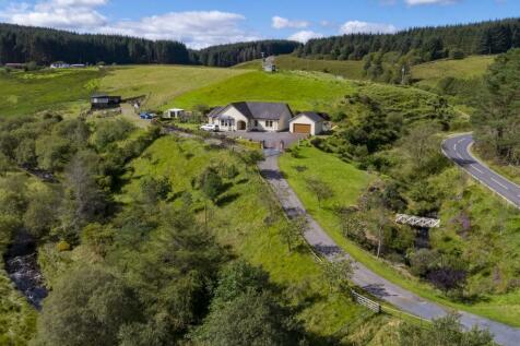 Knockenlee, Dalleagles, Cumnock, KA18. 3 bedroom detached house