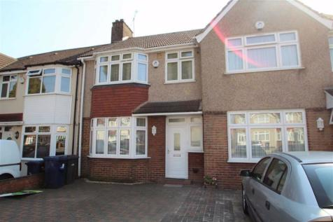 Burns Avenue, Southall, Middlesex. 3 bedroom terraced house