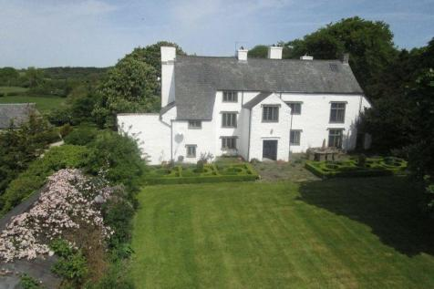 Treguff Place with Land, Llantrithyd, Nr. Cowbridge, CF71 7LT. 6 bedroom detached house for sale