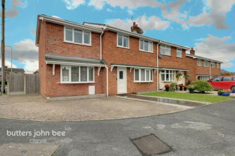 Pelham Close, Haslington, Crewe. 4 bedroom semi-detached house for sale