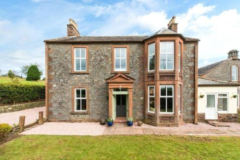 The Manse, Newton Wamphray, Moffat, Dumfries & Galloway, South West Scotland, DG10. 5 bedroom detached house for sale