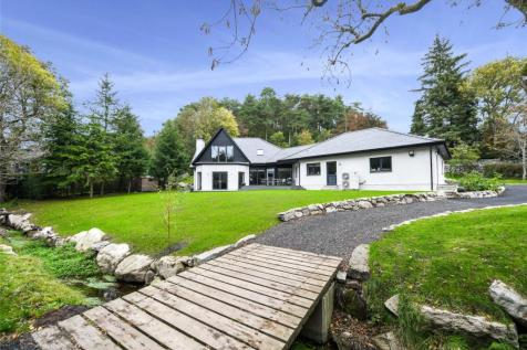 Bargorge, Barhill Road, Dalbeattie, Dumfries and Galloway, South West Scotland, DG5. 5 bedroom detached house