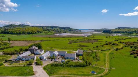 Meikle Richorn Farm & Cottages, Dalbeattie, Dumfries, Dumfries & Galloway, South West Scotland, DG5. 6 bedroom detached house for sale