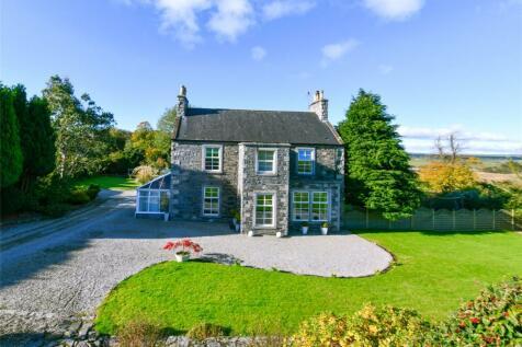 Barholm House, Creetown, Newton Stewart, Dumfries & Galloway, South West Scotland, DG8. 5 bedroom bungalow for sale