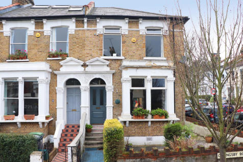 Coningsby Road, Stroud Green , Finsbury Park. 4 bedroom end of terrace house for sale