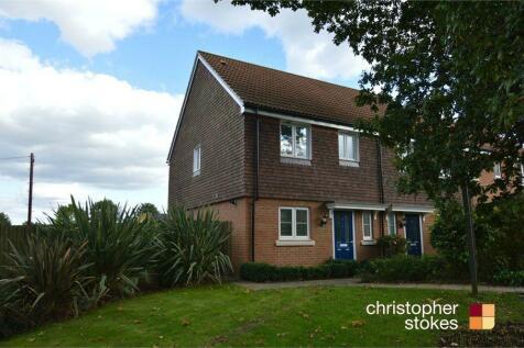 Aldermere Avenue, West Cheshunt, Hertfordshire. 3 bedroom end of terrace house
