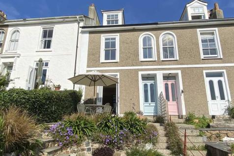 Bellair Terrace, St Ives, Cornwall. 4 bedroom terraced house