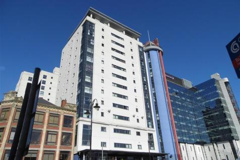 Landmark Place, Churchill Way, Cardiff. 1 bedroom flat