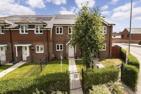 Meadow Gate, Dunton Green, TN13. 3 bedroom terraced house