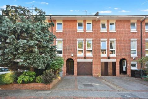 Mercers Place, Brook Green, London, W6. 3 bedroom terraced house for sale