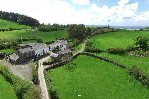 Howbarrow Farm, Cartmel, Grange-Over-Sands, Cumbria. 5 bedroom detached house for sale