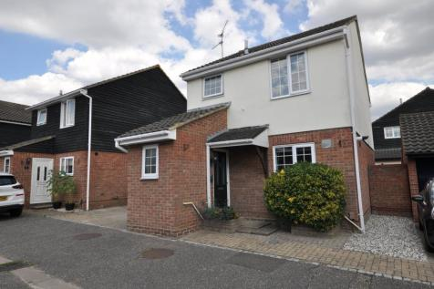 Pocklington Close, Chelmer Village, Chelmsford, CM2. 3 bedroom detached house