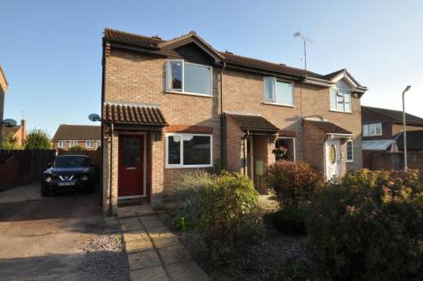 Cook Place, Chelmer Village, Chelmsford, CM2. 2 bedroom end of terrace house