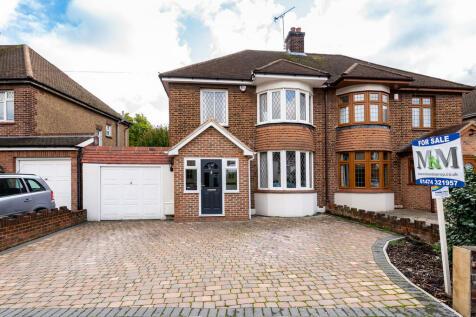 Milton Hall Road, Gravesend, DA12. 3 bedroom semi-detached house for sale